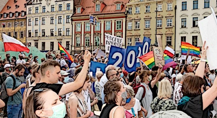 Wiec wyborczy - Andrzej Duda - Wrocław 2020